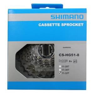 Bilde av Shimano Cassette CS HG-51 8s